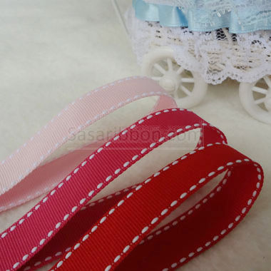 Stitch Grosgrain Ribbon