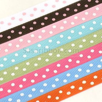 Dots Print Ribbon