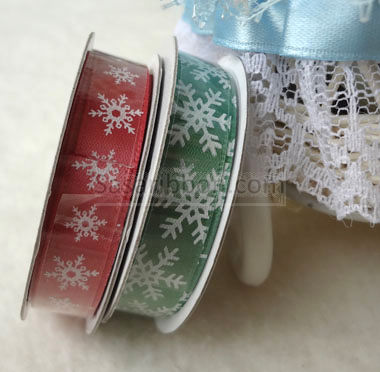 Christmas Print Ribbon